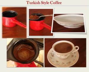 Turkish Style Coffee step by step instructions with pictures