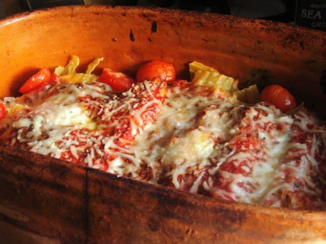 Spinach Cheese Cannelloni