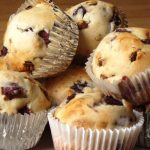 Cherry, Date and Nut Muffins