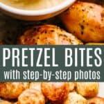 pretzel bites pin image