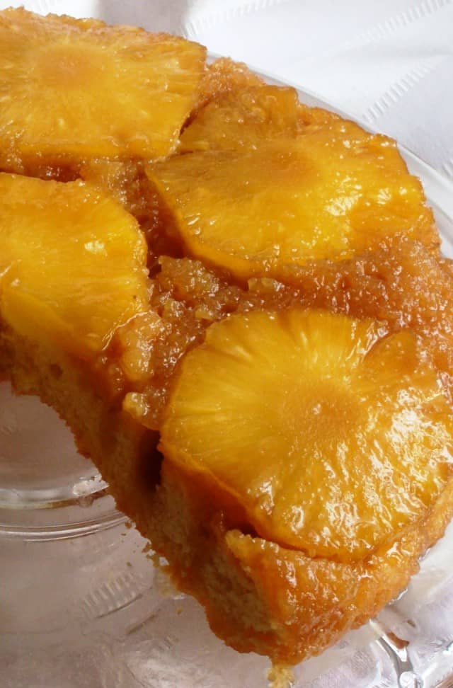 Pineapple Upside Down Cake Recipe - The best, most tender and delicious Pineapple Upside Down Cake! Pineapple Upside Down Cake is a classic American Cake made with a moist cake batter and a flavorful buttery topping of pineapple rings