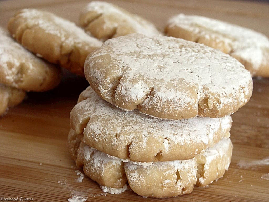 Shortbread Cookies or Гурабии