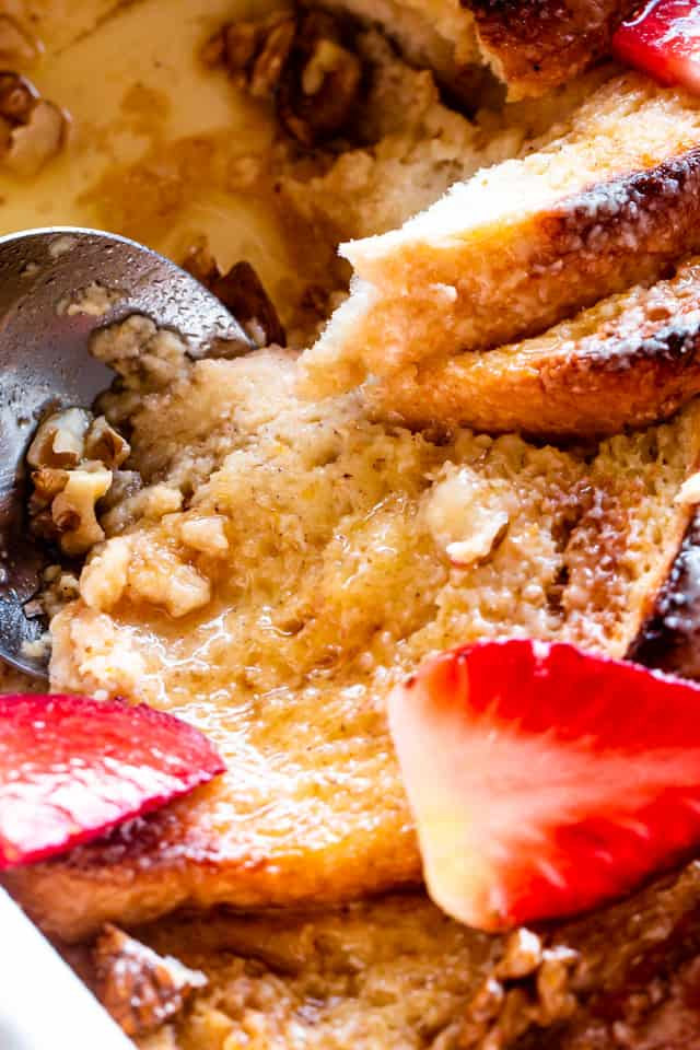 Baked French Toast with Maple Syrup