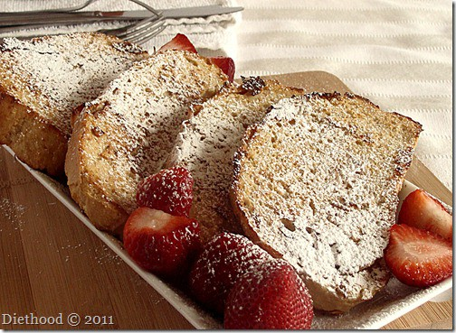 maple cinnamon french toast