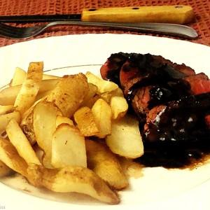 French Fridays with Dorie:  Bistrot Paul Bert Pepper Steak