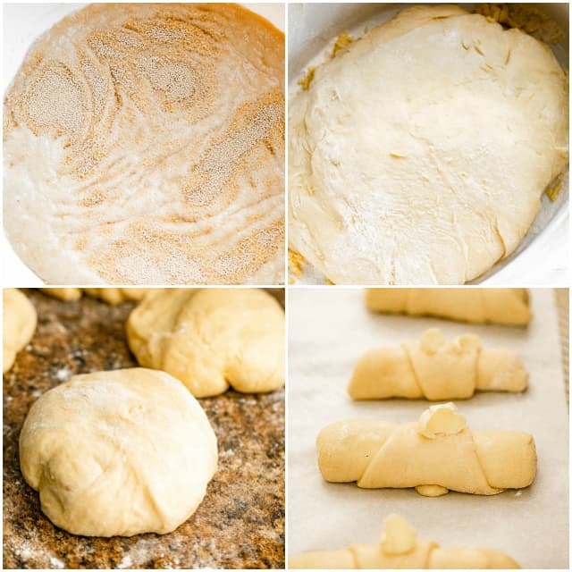 step by step pictures on how to make kifli