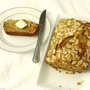 Coconut Banana Nut Bread