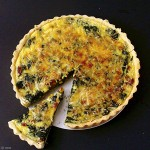 French Fridays with Dorie: Spinach and Bacon Quiche
