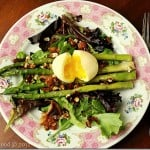 Bacon and Eggs and Asparagus Salad