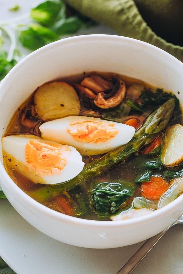 Vegetable Soup French Pot au Feu