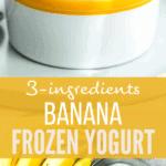 banana fro yo long pinterest image