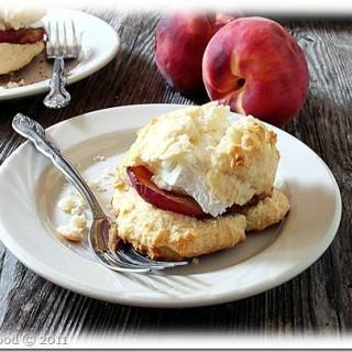 Grilled Peach Shortcakes