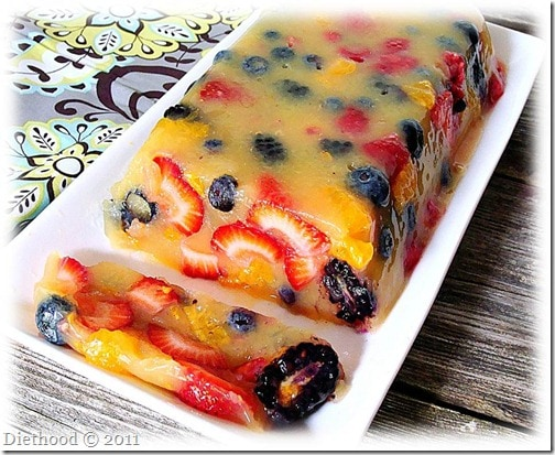 French Fridays with Dorie: Citrus-Berry Terrine