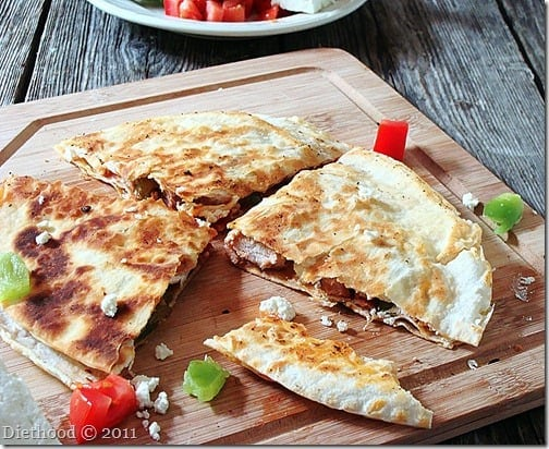 macedonian quesadillas