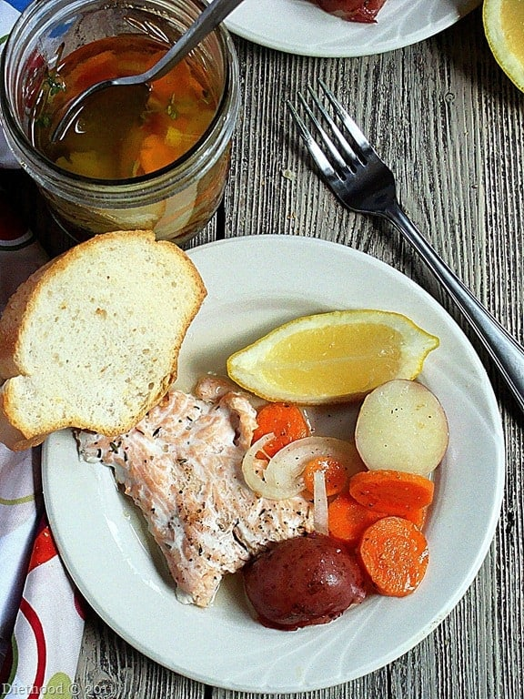 French Fridays with Dorie: Salmon and Potatoes in a Jar