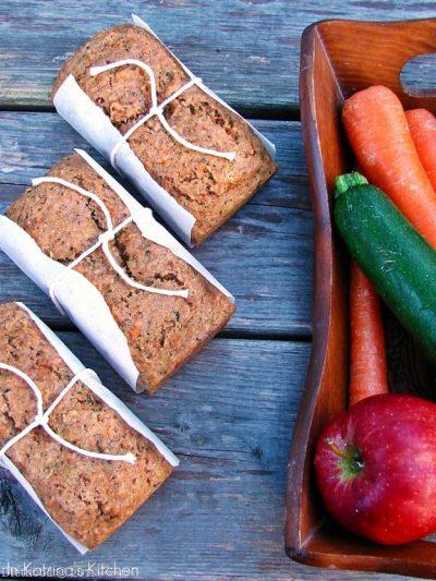 Fruit and Veggie Bread
