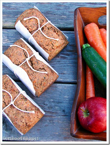 Fruit and Veggie Bread1