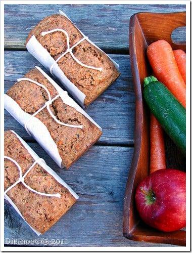 Fruit and Veggie Bread1