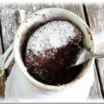 Chocolate Mug Cake {Happy Birthday}