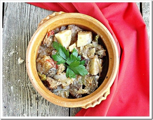 DSC09078 thumb Macedonian Style Vegetable and Meat Stew {Turli Tava} and a Giveaway!