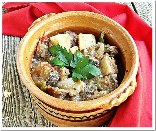DSC09079 thumb Macedonian Style Vegetable and Meat Stew {Turli Tava} and a Giveaway!