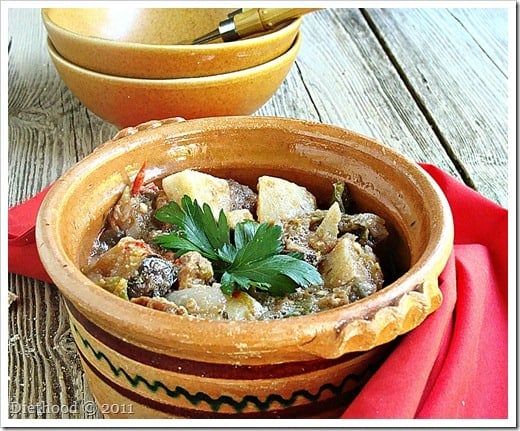 DSC09081 thumb Macedonian Style Vegetable and Meat Stew {Turli Tava} and a Giveaway!