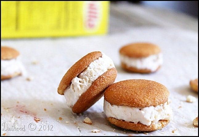 Vanilla Nilla Ice Cream Sandwich