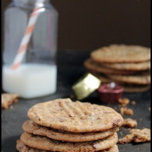 Death by Peanut Butter: Peanut Butter Cookies with Chocolate Peanut Butter Cups