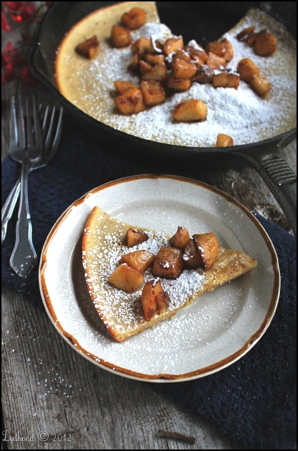 dutch apple 4edited thumb Dutch Baby Pancake with Fried Apples