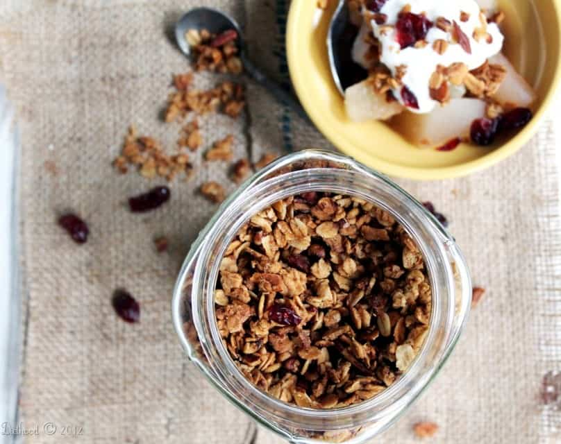 granola7 e1380251253883 Maple Nut Granola