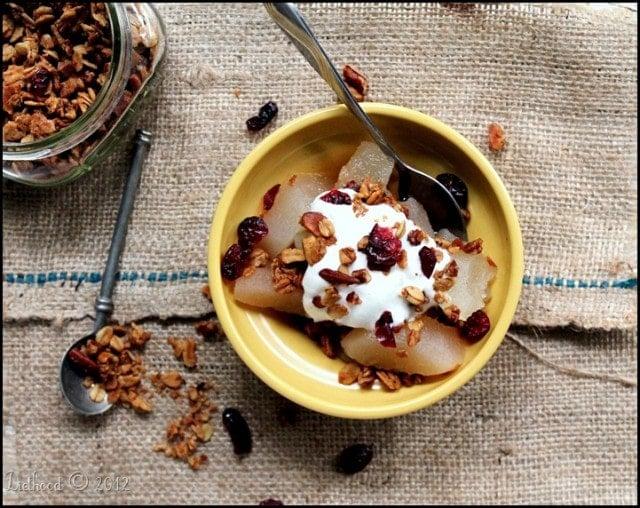Maple Nut Granola   www.diethood.com