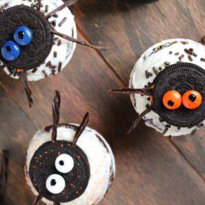 Spider Oreo Cupcakes