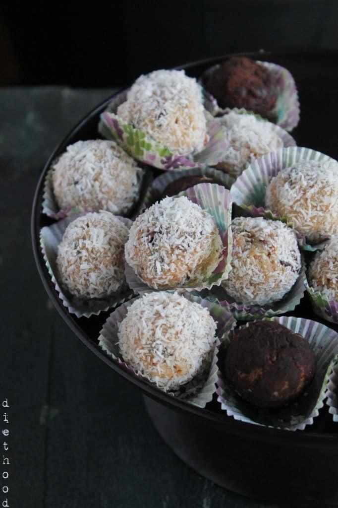 Peanut Butter Cranberry Cookie Bites Gluten-Free Sugar-Free @diethood