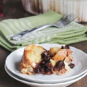 Chocolate Cinnamon Bread Pudding