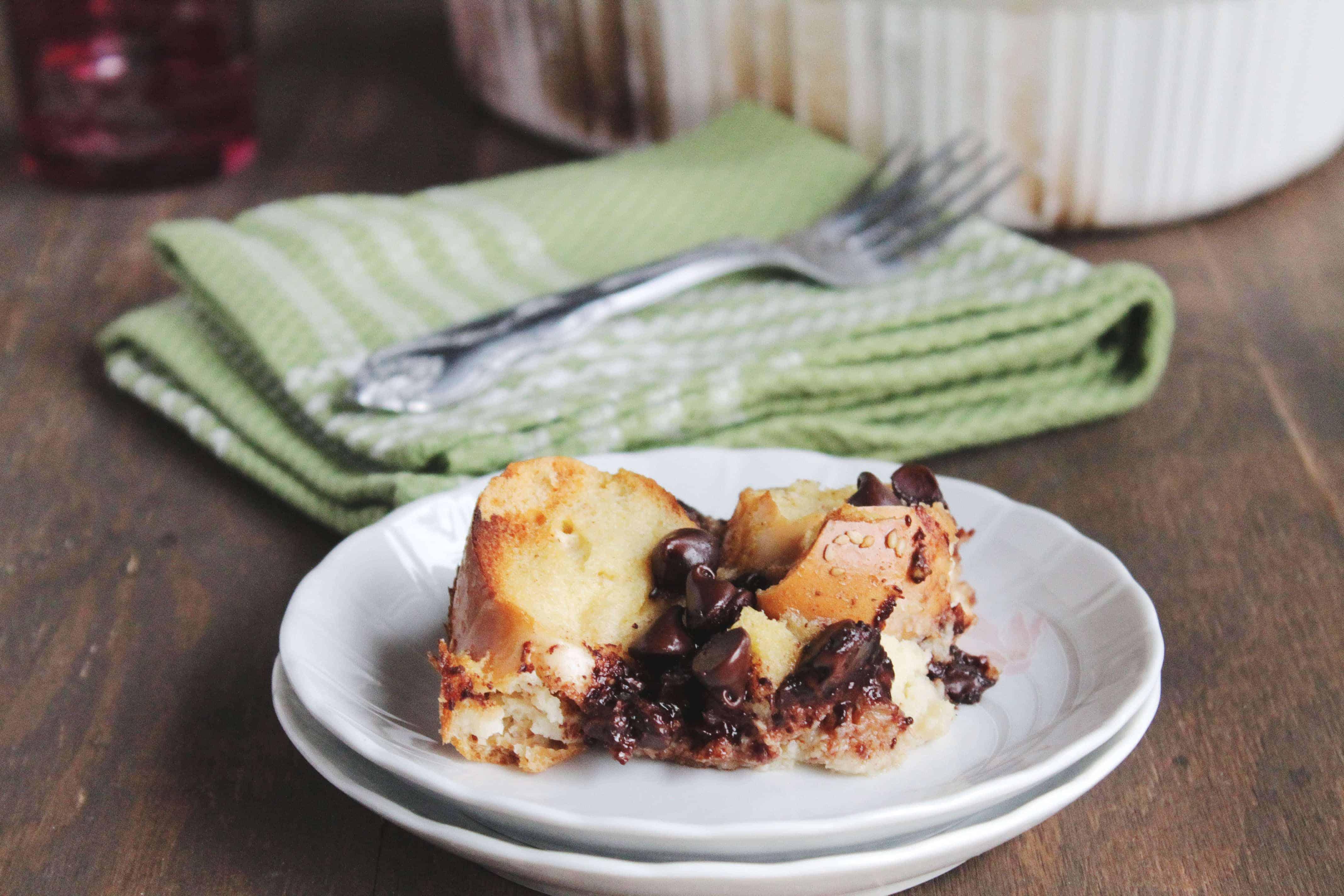 Chocolate Cinnamon Bread Pudding | Diethood