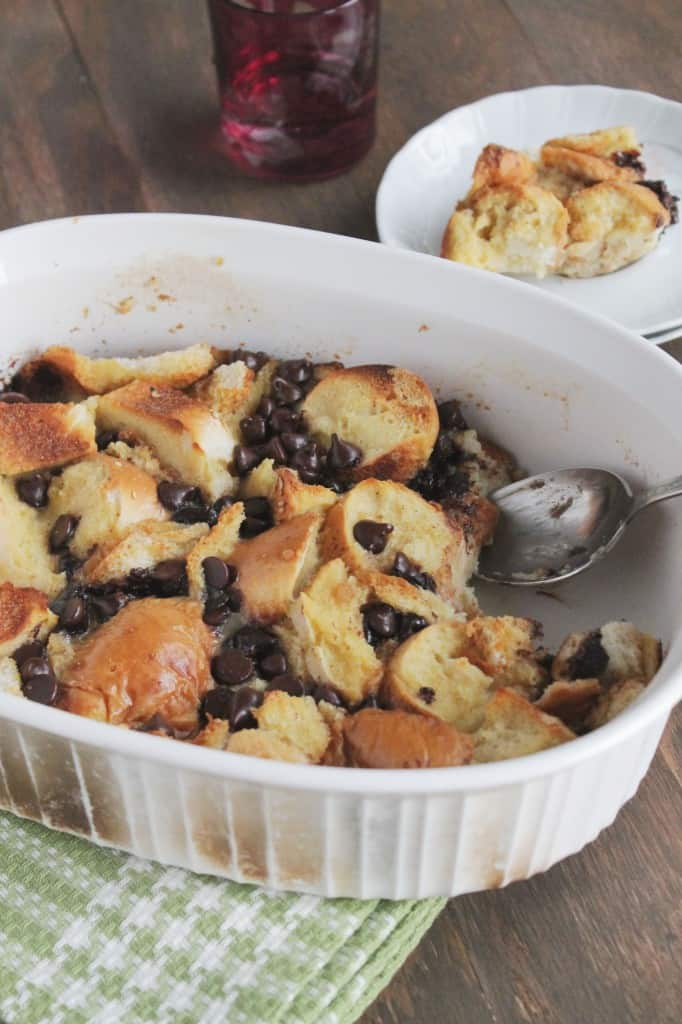 Chocolate Cinnamon Bread Pudding @diethood