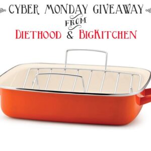 Rachael Ray Roaster with Rack from @diethood and @bigkitchen #giveaway #win #christmas #pan