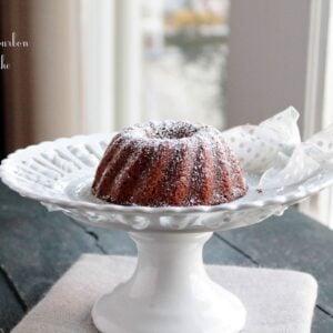 Vanilla Bourbon Bundt Cake #BundtaMonth