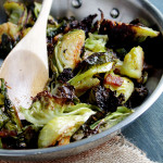 Savory Sundays: Roasted Brussels Sprouts with Bacon