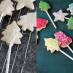 Christmas Cookie Pops @diethood | www.diethood.com | #cookies #christmas #cookiepops