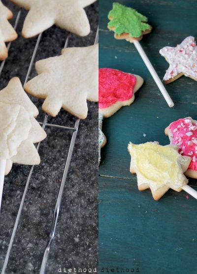 Christmas Cookie Pops @diethood | www.diethood.com | #cookies #christmas #cookiepops