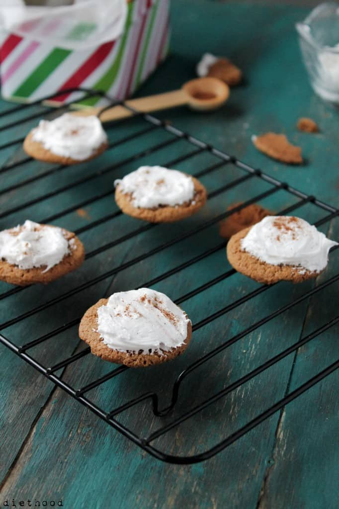 ginger snaps 3 682x1024 Ginger Snap Cookies with Lemon Cream Cheese Frosting
