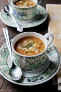 Slow Cooker Leek & Potato Soup | Easy Vichyssoise Featured on Oprah!