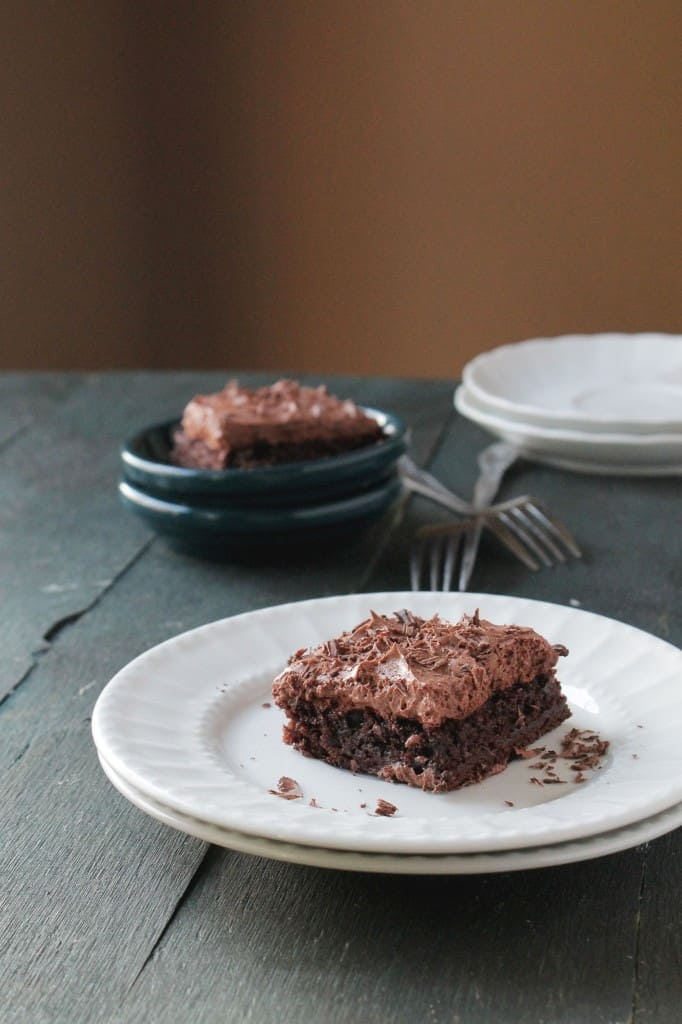 Chocolate Mousse Brownies @diethood | www.diethood.com | #brownies #chocolate #recipe #dessert