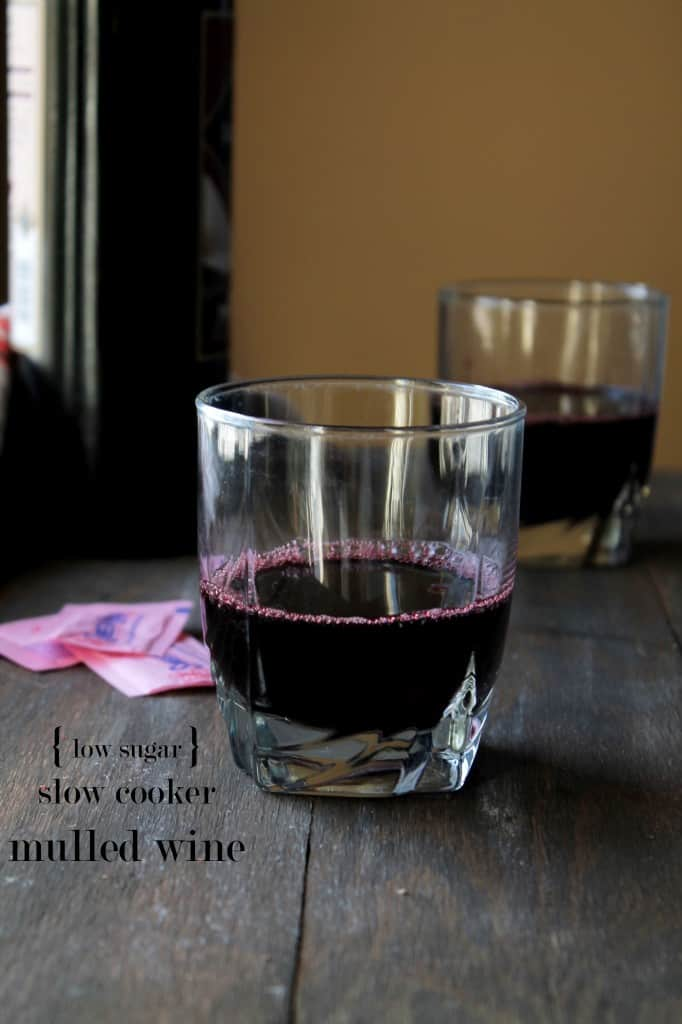 Slow Cooker Mulled Wine - Low Sugar | www.diethood.com | #mulledwine #recipe #sweetnlow #alcohol