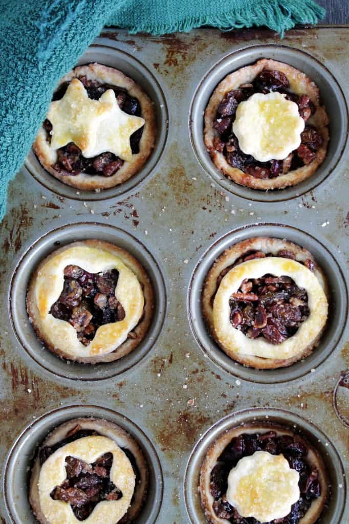 Boozy Fruit Tartlets @diethood | www.diethood.com | #tart #booze #fruit #Christmas #Holidays #bake #recipe