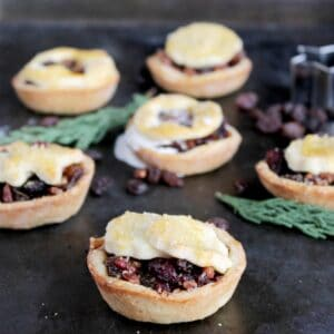 Boozy Fruit Tartlets