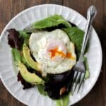 Fresh Fried-Egg Salad