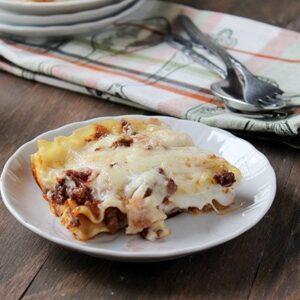 Savory Sundays: Lasagna Bolognese with Bechamel Sauce