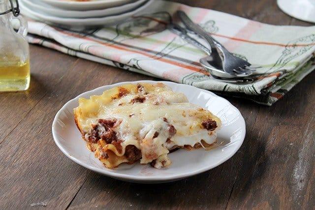 lasagna9 Savory Sundays: Lasagna Bolognese with Bechamel Sauce